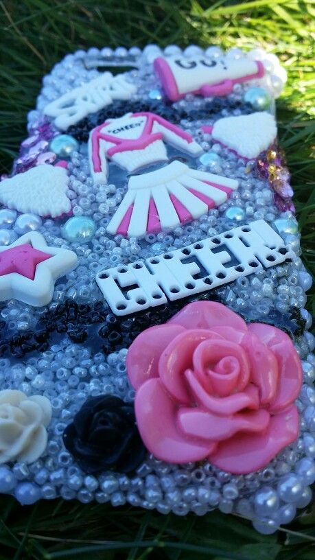 Iphone 5 custom cell phone case by Le displays  #cheerleader #cellphonecaseleader #iphone5 #iphone #cheer #schoolspirit