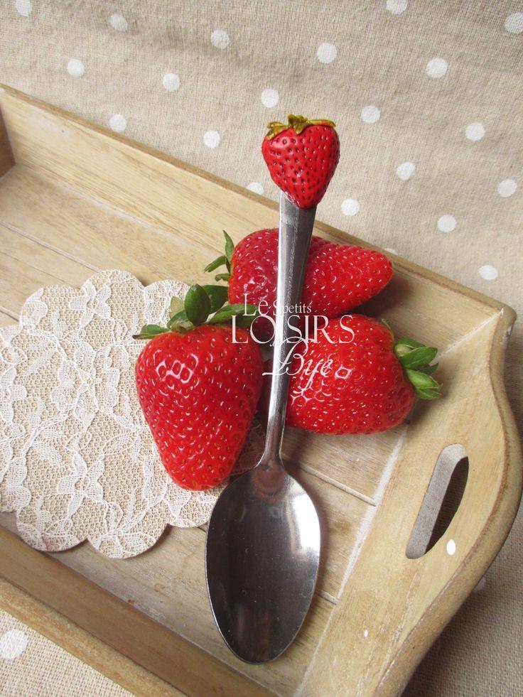 Cuillère fraise