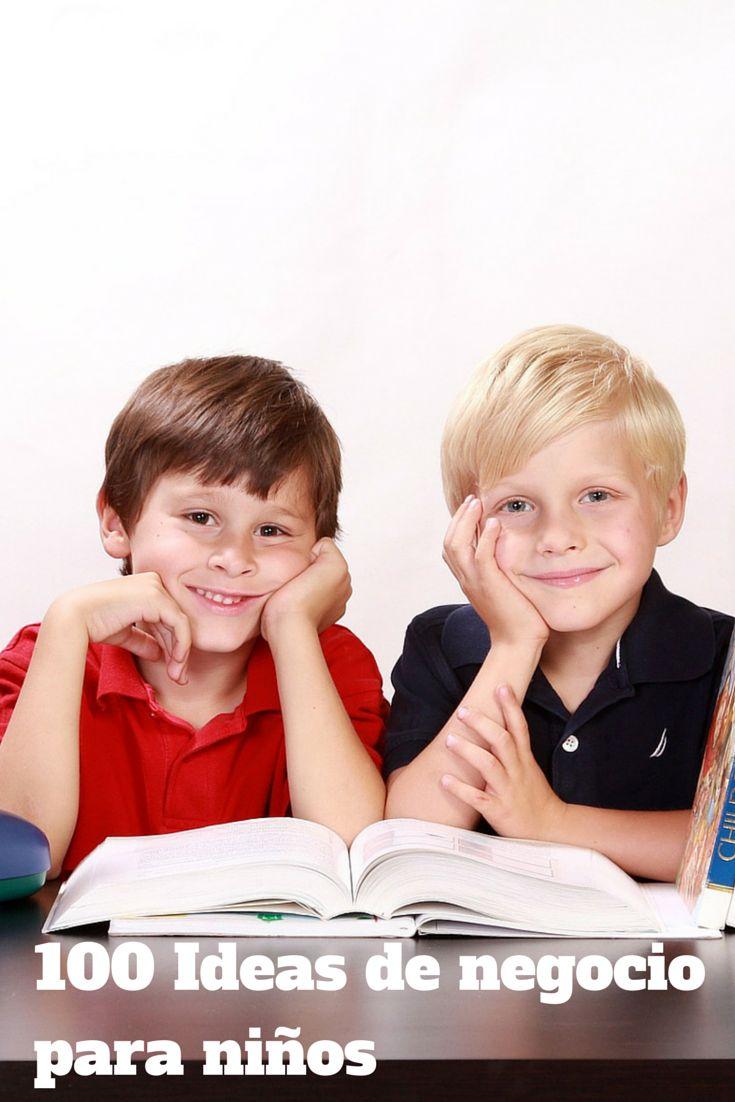 Los niños se caracterizan por representar un mercado muy exigente, cuando pensamos ideas de negocio debemos tener presenta esa característica del mercado infantil.