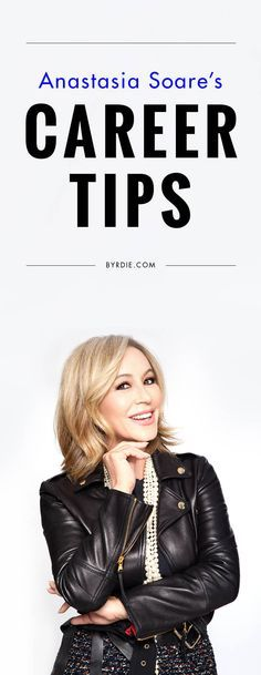 Career tips from Anastasia Soare