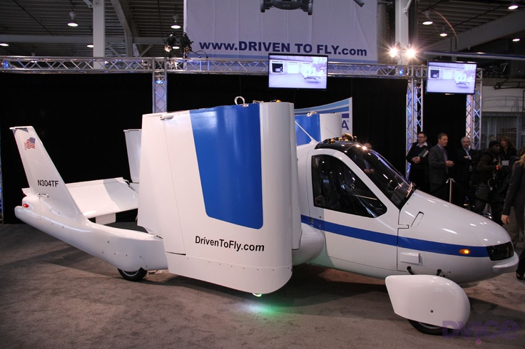 Terrafugia Transition: Up close with a real flying car: Flying Car