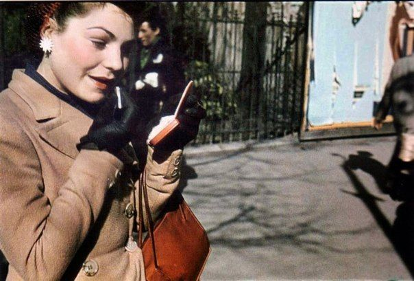 Уличная мода Парижа 1930-40-х годов.