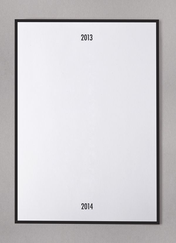 I want one of these posters in my room, you write words or draw things describing the year