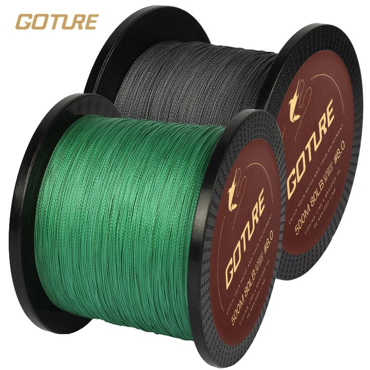 Goture 500M PE Braided Fishing Line 4 Stands Super Strong Multifilament Fishing Lines 12-80LB | Price: US $8.95 | http://www.bestali.com/goto/32304064510/10