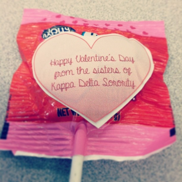 32 best Sorority Valentines Day images on Pinterest  Valentines