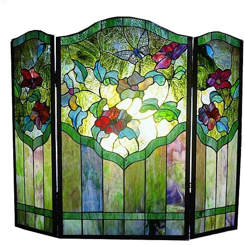 Best 25+ Stained glass fireplace screen ideas on Pinterest | Glass ...
