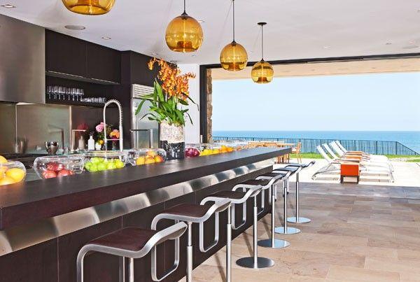 Opulent Custom Built Residence by The Ocean in Malibu: Kitchens, Interior Design, Ideas, Beaches, Beach Houses, Dream House, Future House, Malibu Beach, Homes