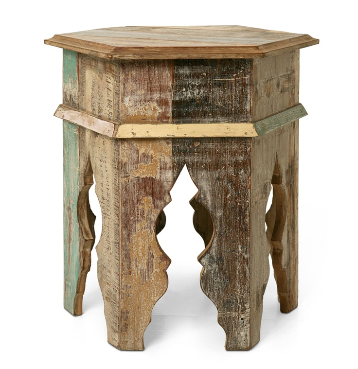 Reclaimed Wood Accent Tables Coolt Pinterest