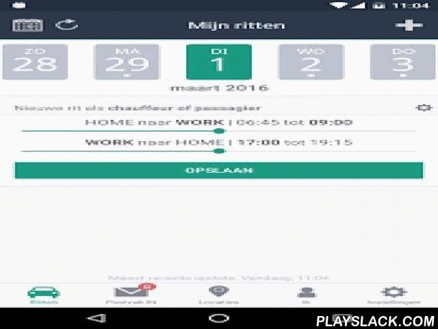 Twogo  Android App - playslack.com ,  De mobiele app TwoGo is een gratis en gebruiksvriendelijke carpooldienst voor uw dagelijks woon-werkverkeer. TwoGo zoekt mensen in de buurt die willen carpoolen - om naar het werk te gaan, naar school, of waar dan ook. Deel uw ritten, verlaag de uitstoot, en deel de kosten. Een carpoolrit vinden is gemakkelijk en snel met TwoGo. Met slechts een druk op de knop zoekt TwoGo naar chauffeurs of passagiers met dezelfde of een gelijkaardige bestemming. TwoGo…