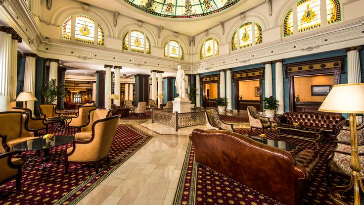 The Jefferson Hotel Is A Luxury Hotel In Richmond Virginia Opened In 1895 It Is One Of 27 American Hotels With Mobil Fi Jefferson Hotel Richmond Hotel Hotel