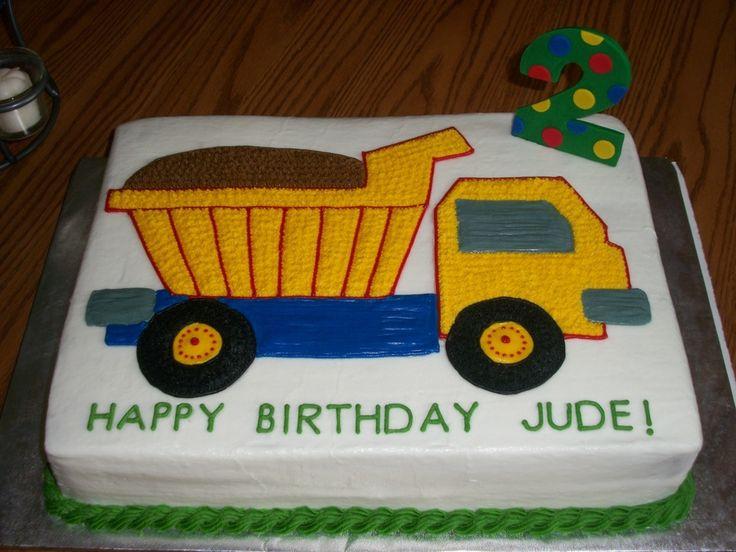 Dump Truck Cake on Cake Central