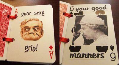 Valentinstags-buch , Bastel-Idee für den Valentinstag