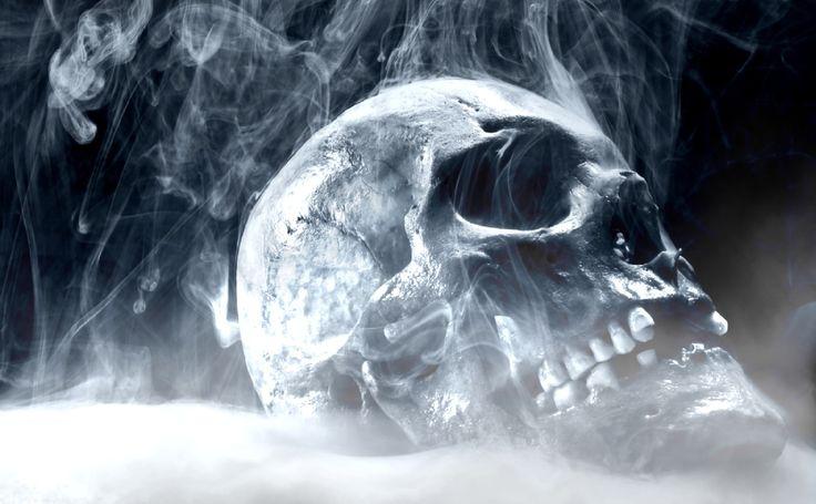 fire skull animated wallpaper preview skulls pinterest