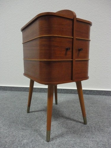 60's Teak Sewing box