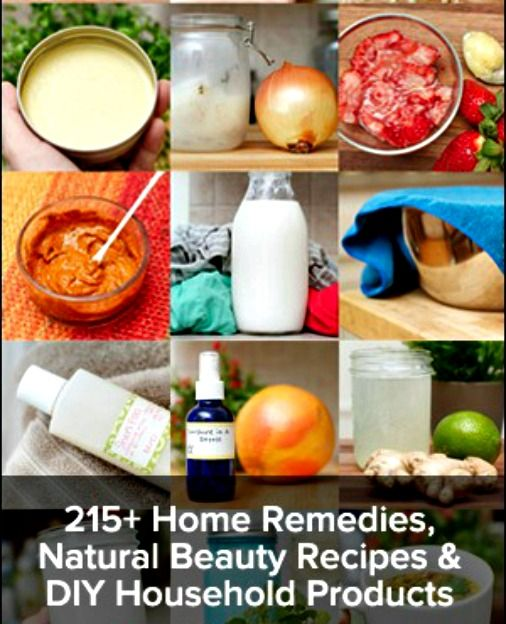 Herbal Remedies Book - Health, Beauty & Cleaning Recipes