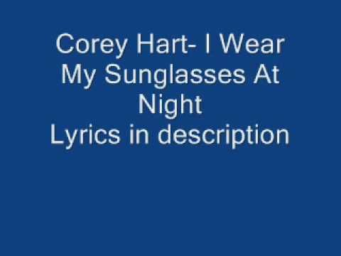 ▶ Corey hart- I wear my sunglasses at night - YouTube