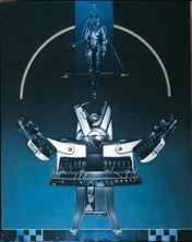 Il grande robot (Metropolis)<br />1979 - cm 146x114 <br /> acrilici su tela