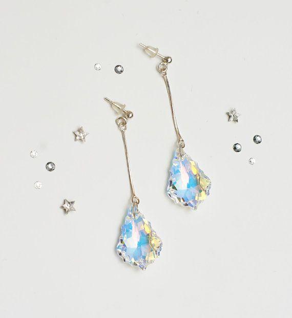 Swarovski Baroque AB Dangle & Drop Earrings US$18.88