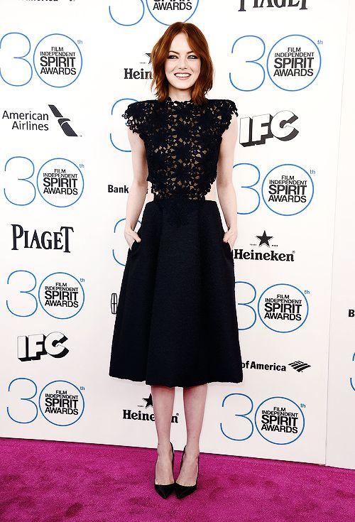 Emma Stone / Film Independent Spirit Awards