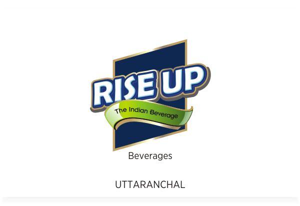 Rise Up Beverage Brand, Uttaranchal, Logo Design by Fineline Graphics @ www.finelinelogo.com