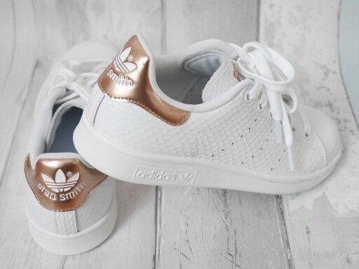 adidas femme stan smith gold