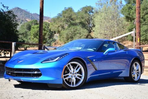 Muscle Cars… Chevy C7 Corvette Stingray 2014