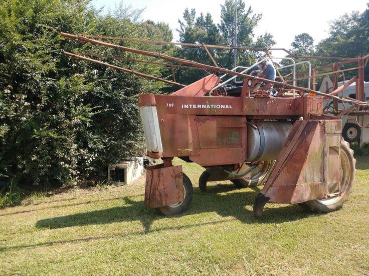 780 international sprayer old farm equipment farmall