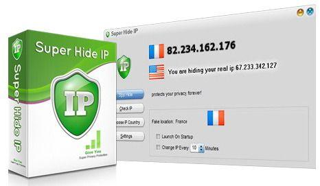 Super Hide IP 3.5.7.6  Savez-vous ce que signifie votre adresse IP?Savez-vous que votre adresse IP est exposé chaque fois que vous visitez un site Web?De nombreux sites Web et les pirates utilisent l'adresse IP pour surveiller votre domicile et d'autres renseignements personnels.Votre adresse IP est votre identité en ligne et pourrait être utilisé par les pirates pour pénétrer dans votre ordinateur dérober des informations personnelles ou de commettre d'autres crimes contre vous.Super Hide…