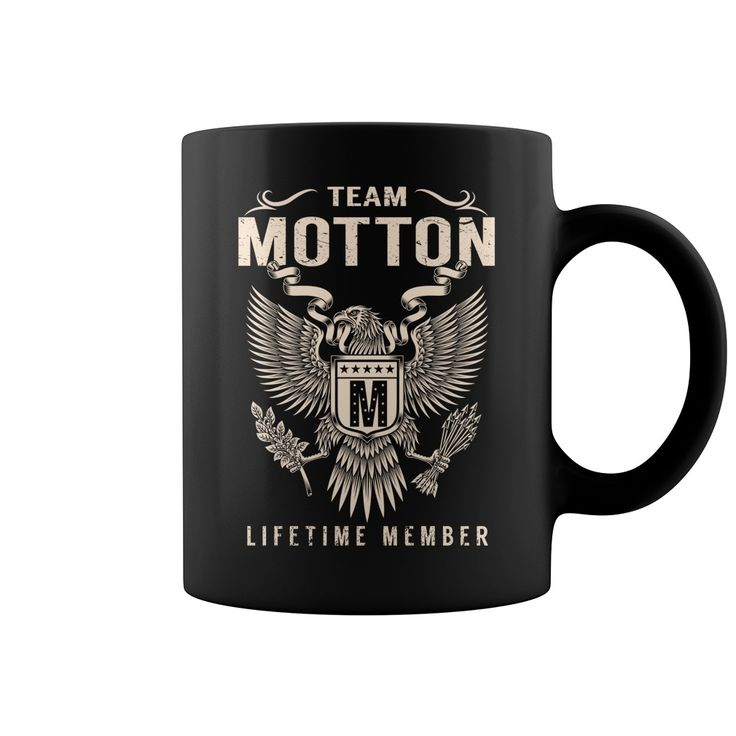 Team MOTTON Lifetime Member Name Mugs #Motton