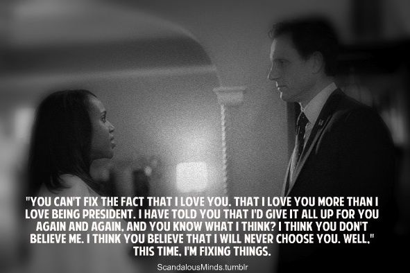 """scandalousminds:  The Best Fitzgerald Grant Quotes… In my humble opinion! :)  """"This time, I'm fixing this."""""""