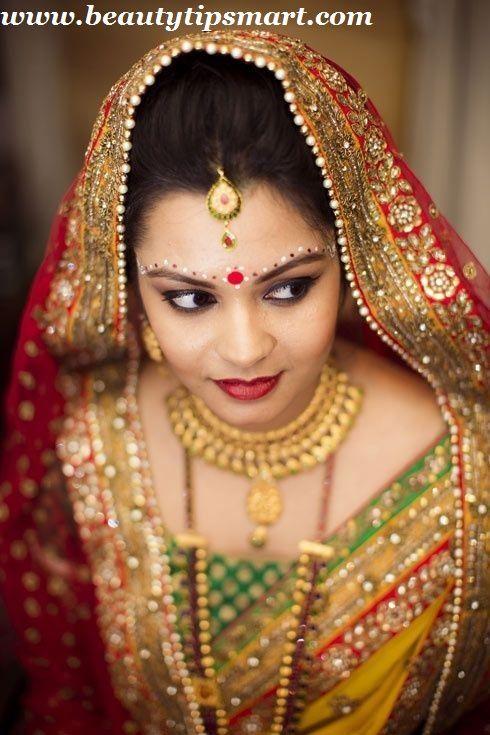 Bindi Designs With Kumkum For Brides 2015