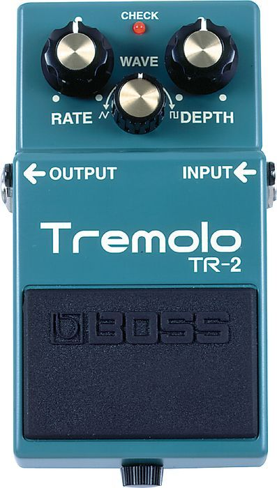 BOSS TR-2 Tremolo - In love with this effect pedal. Too bad it's so pricey