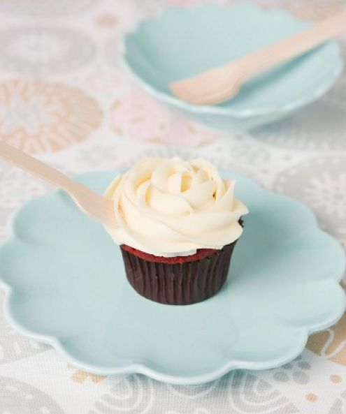 White chocolate frosting #cupcake | Cupcakerecepten.nl