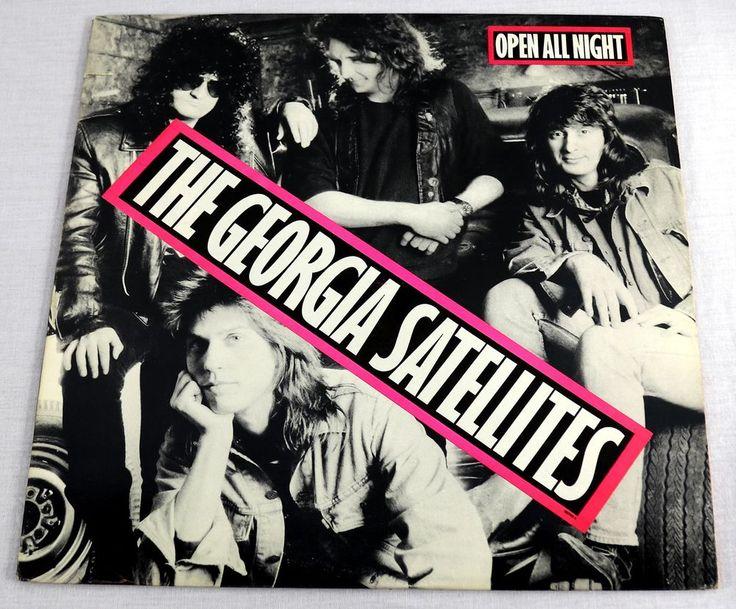The Georgia Satellites 1988 Promo Vinyl LP Album Southern Rock Music Elektra NM #Rock1980sSouthernRock