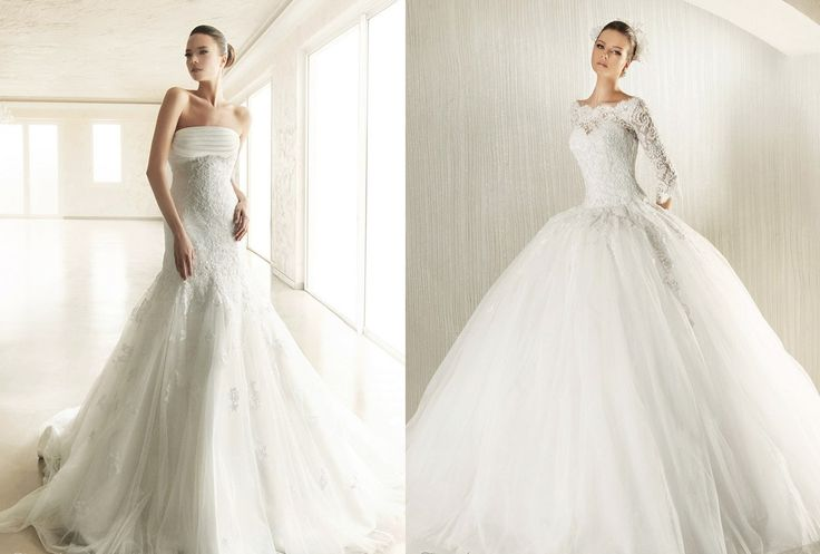 Designer wedding bridal dress 2014 designer bridesmaid for 2 in 1 wedding dress designers