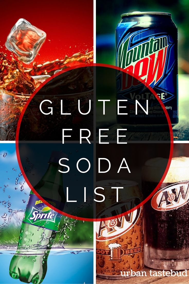Gluten Free Soda Pop List