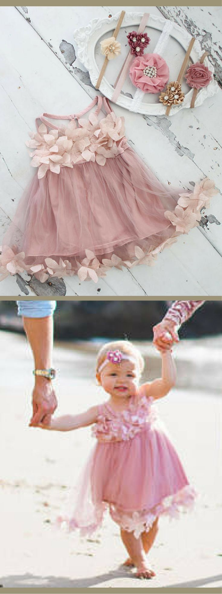 Beach wedding flower girl dresses   best flower girl dresses images on Pinterest  Brides