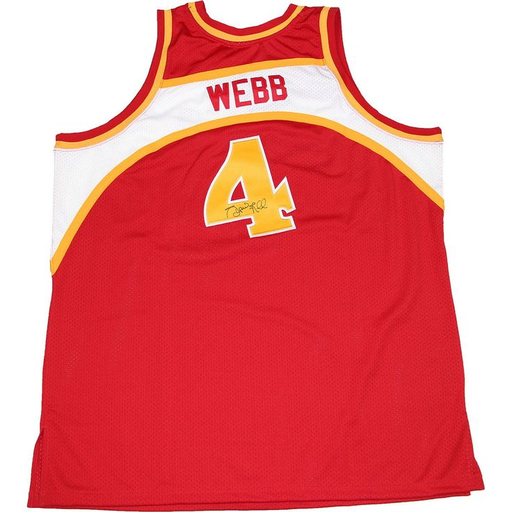 Spud Webb Signed Atlanta Hawks 1987 Road Jersey - Spud Webb has personally signed this Atlanta Hawks 1987 Road Jersey-Spud Webb is most noted in winning the Slam Dunk Contest in 1986. Despite being one of the shortest players in NBA history he was never short of being an exciting player. This Spud Webb autograph is perfect for any basketball fan. This Spud Webb autograph is Guaranteed Authentic by Steiner Sports and include a Steiner Sports Certificate of Authenticity and an accompanying…