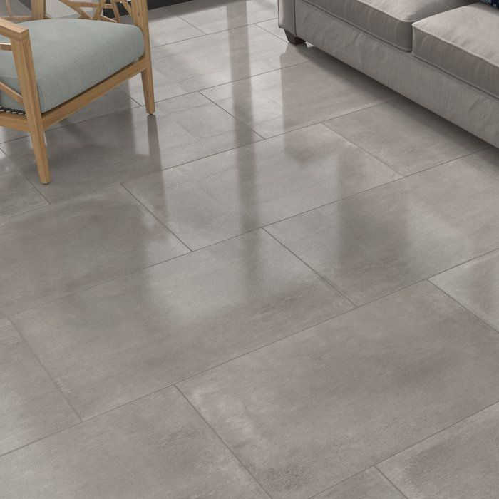 High Street 24 X 36 Porcelain Concrete Look Wall Floor Tile Tile Floor Living Room Living Room Tiles Tile Floor
