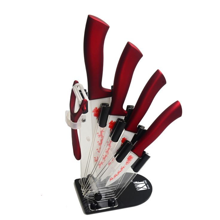 Knife Set With Stand Buy Here: https://goo.gl/ZSBUzL #aliexpress #alibaba #superdeals #coupons #kitchen #design #bargains #deals