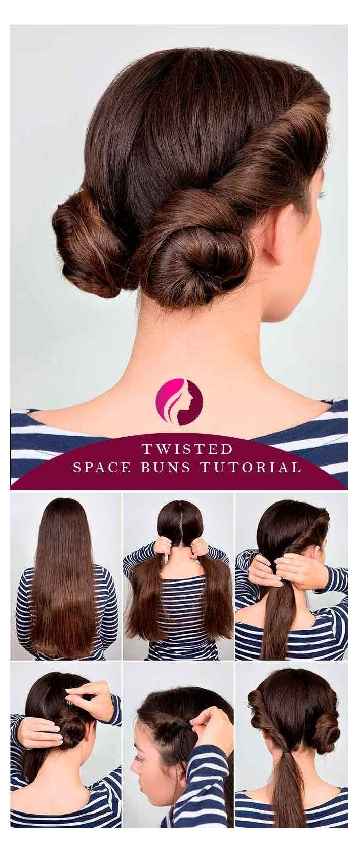 18 Easy Hairstyles for Long Hair   Make New Look easy ...