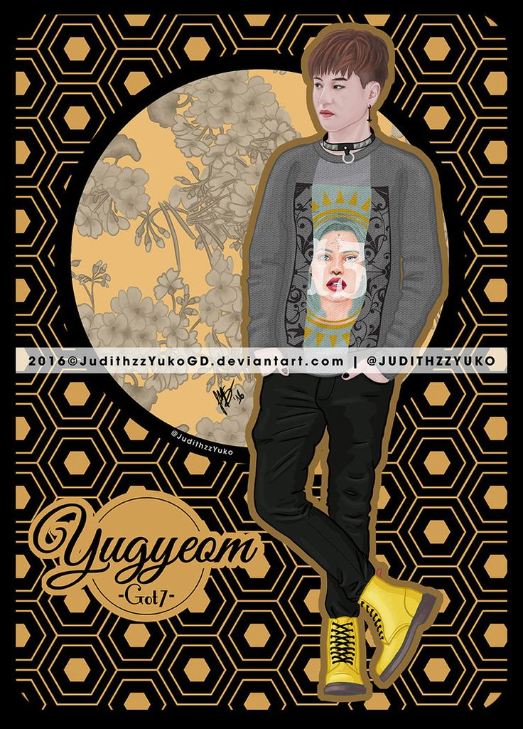 Yugyeom -Got7- by JudithzzYukoGD.deviantart.com on @DeviantArt