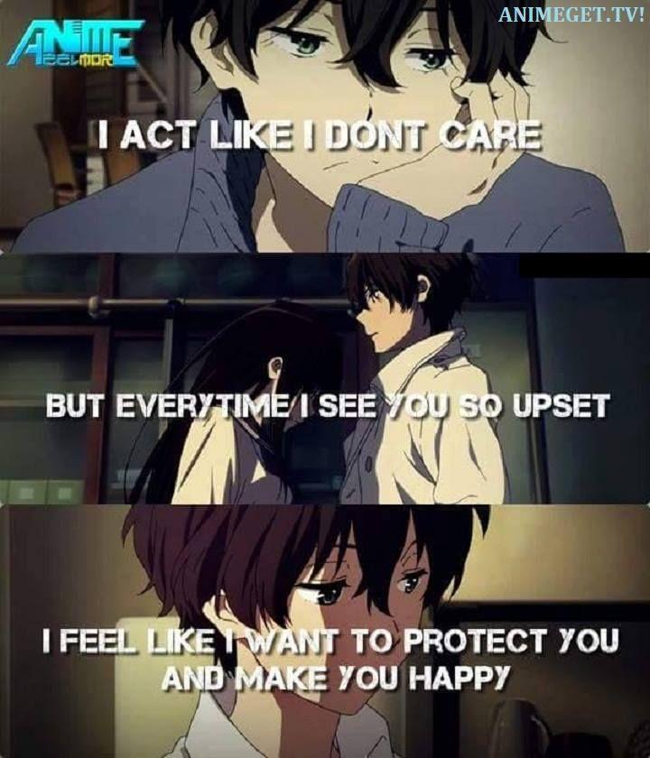 Hasil gambar untuk you're like snow beautiful but cold anime quotes