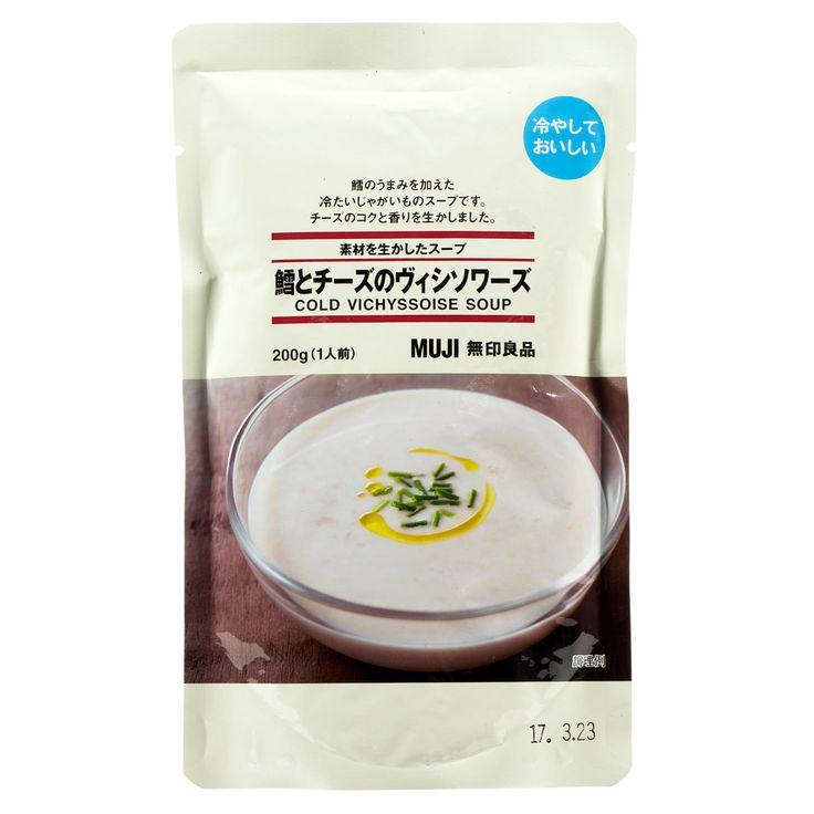 無印良品 素材を生かしたスープ 鱈とチーズのヴィシソワーズ 200g(1人前)