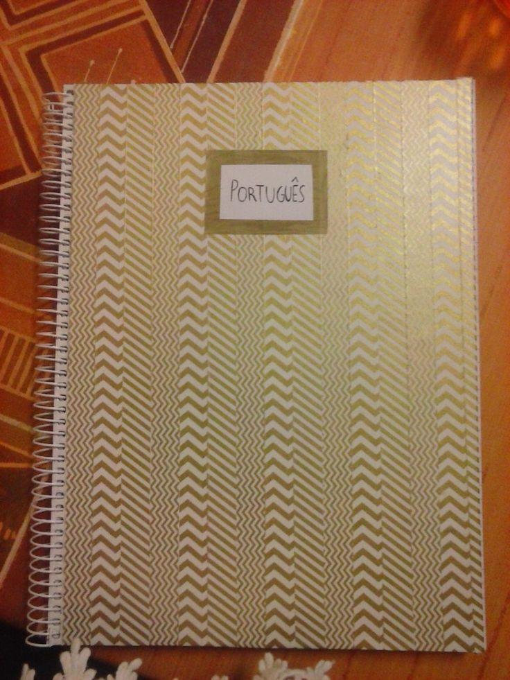 Caderno Português DIY