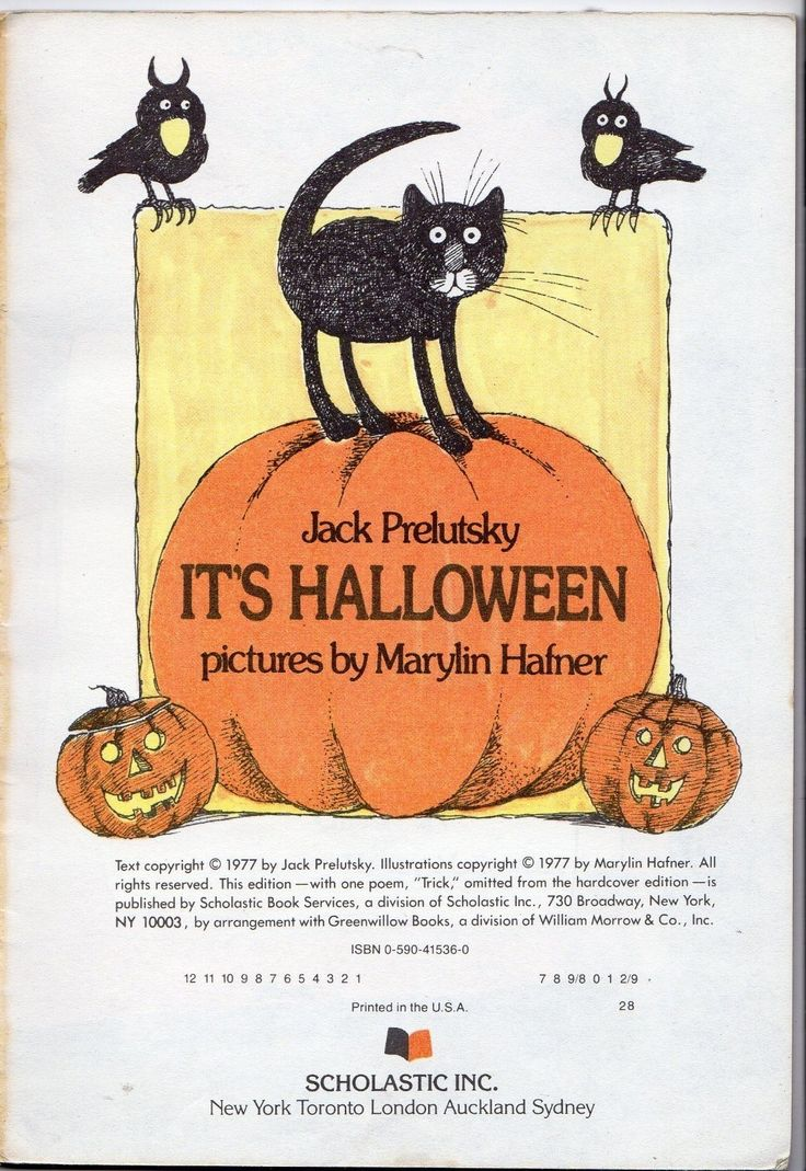 halloween jack prelutsky poems