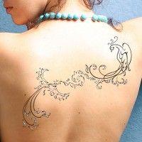 Tatuaggio di Rinascita della fenice, Superamento delle difficoltà tattoo - TattooTribes.com