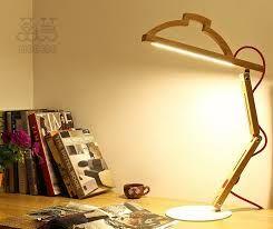 Image result for unusual wooden bedside lamps