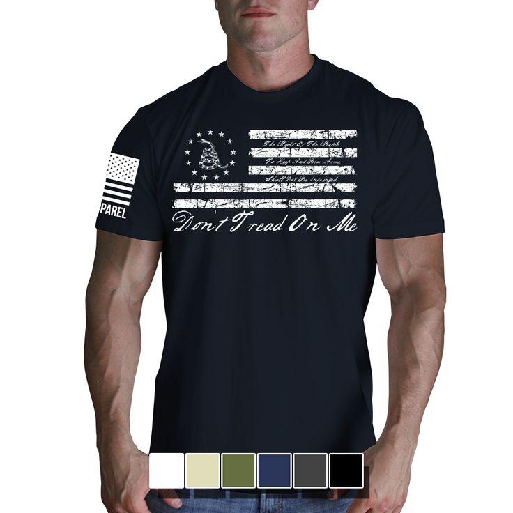 2nd Amendment shirts & hoodies! (http://www.ninelineapparel.com/mens-t-shirt-2nd-amendment/)