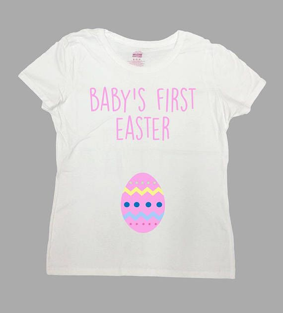 Easter Announcement Pregnancy T Shirt Holiday Gifts For